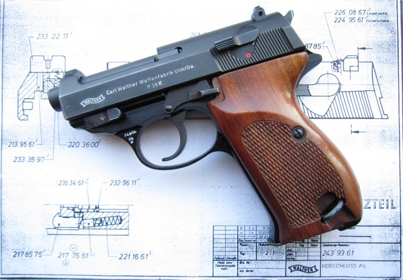 Walther P38k