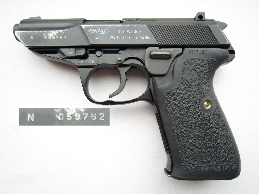 Walther P5 Dutch Police N-number