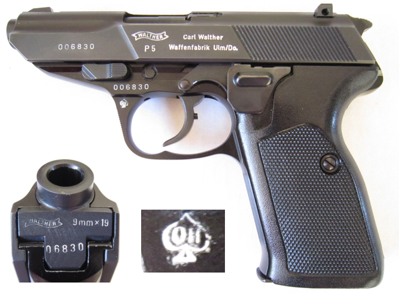 Walther P5 2nd variation