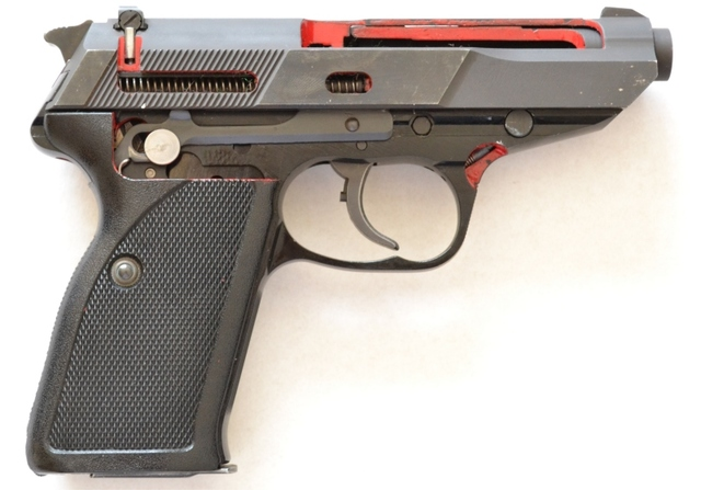 Walther P5 Schnittmodel cutaway early variation