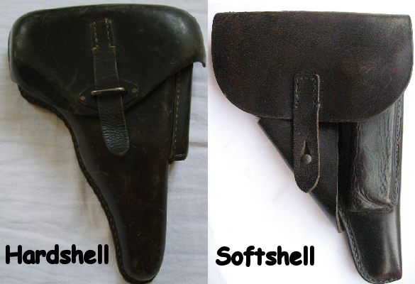 Softshell hardshell holster for the P38