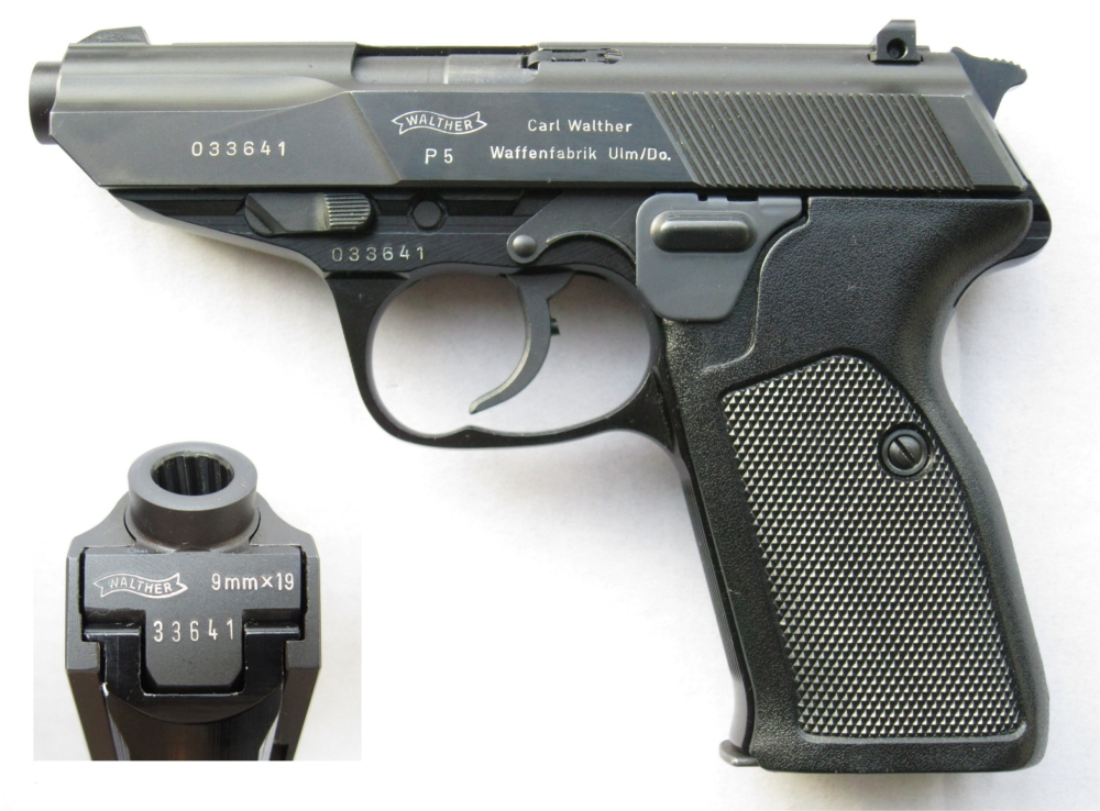 Walther P5 4th variation