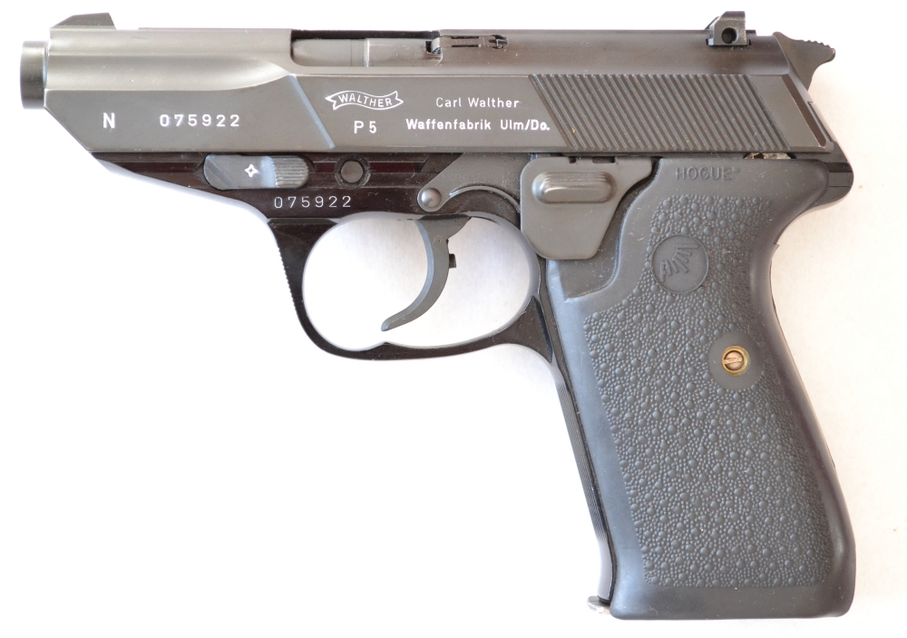 Dutch Police Walther P5 used by the Intendance