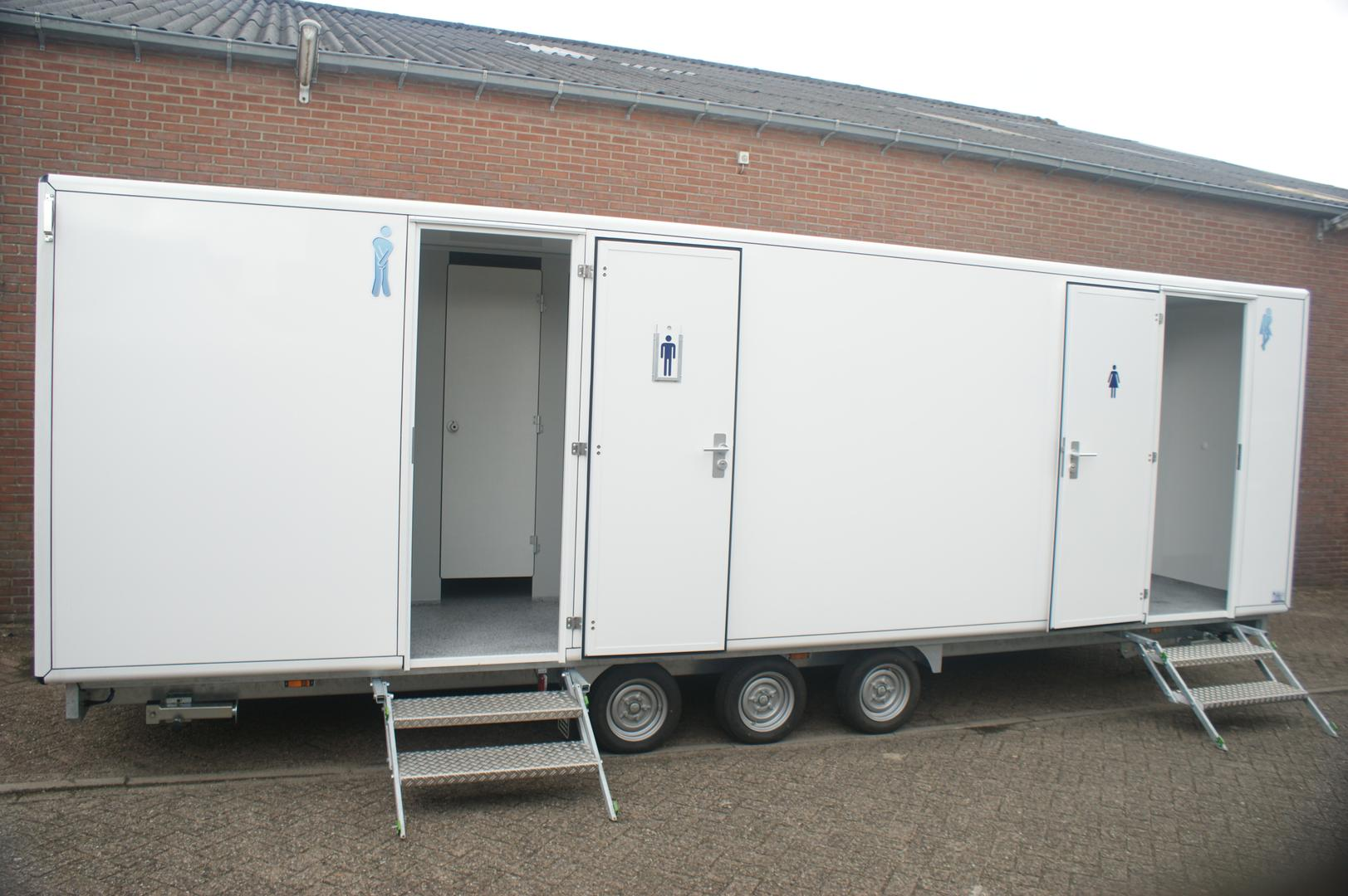 Dames toiletwagen XL