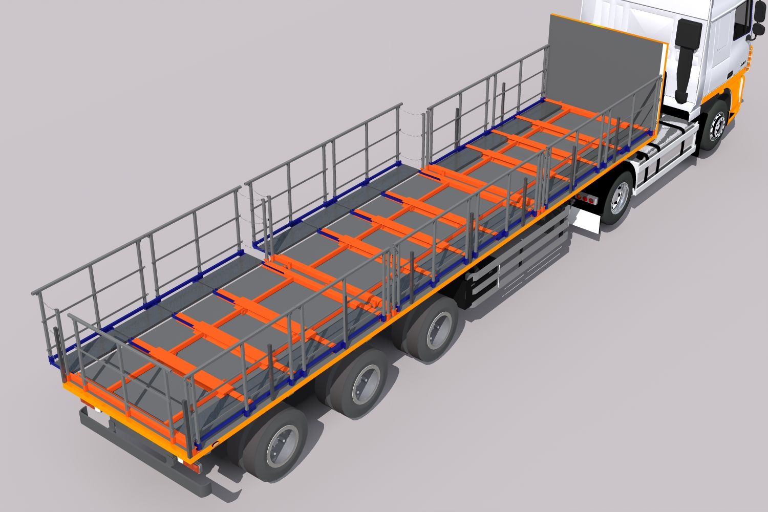 Trailer Loading Safety system