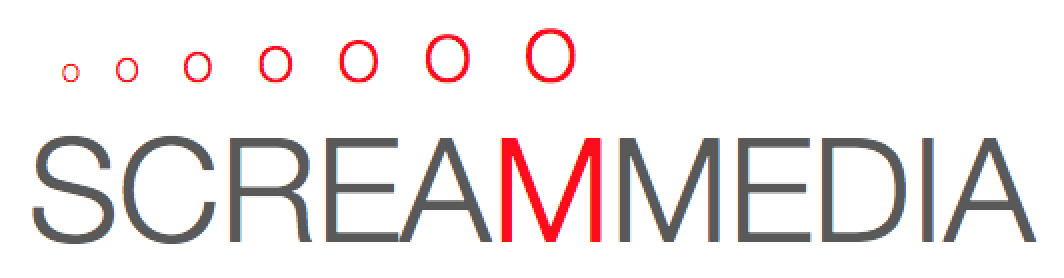 Scream Media website logo