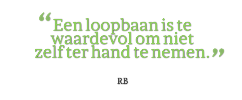 Roderik Bender quote Loopbaan