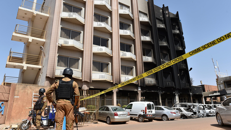 Burkina Faso hotel attack: At least 20 reported dead, 63 hostages released