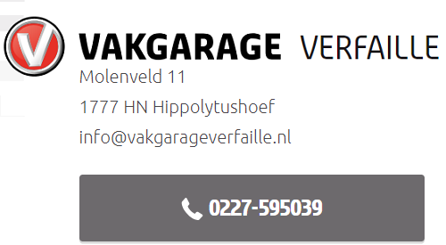 Vakgarage Verfaille