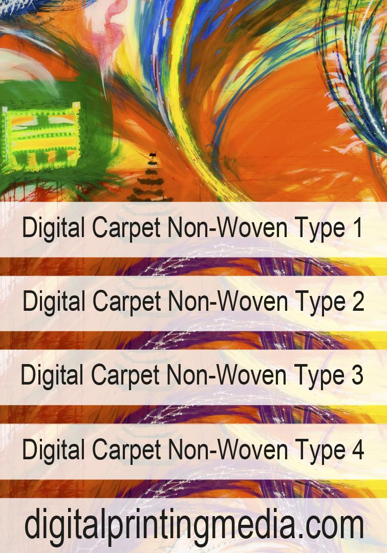 Digital Carpet Non-Woven Type 1/4