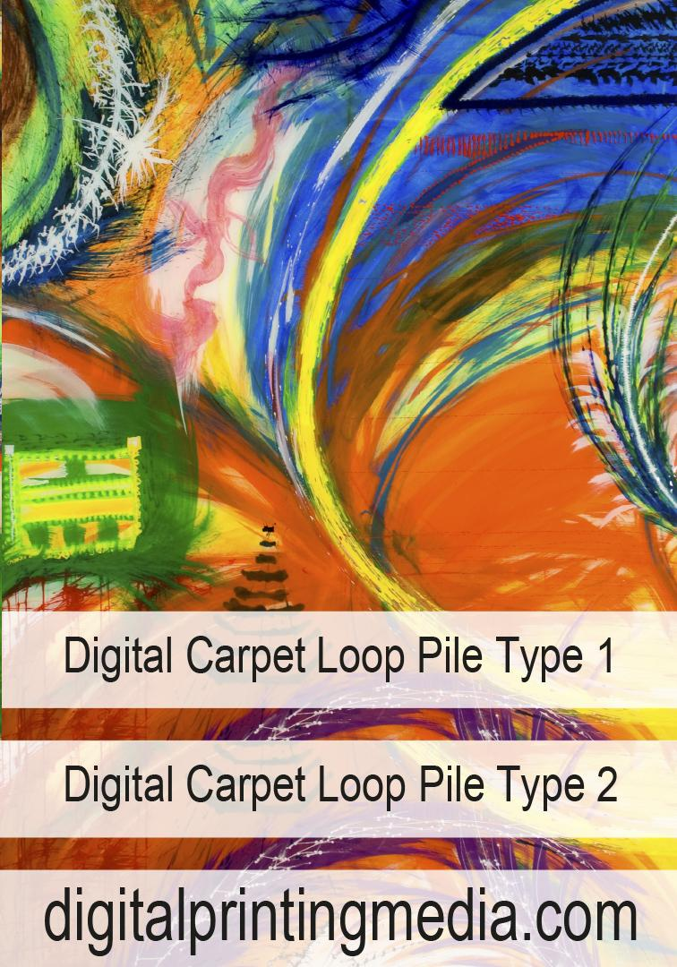 Digital Carpet Loop Pile Type 1/2